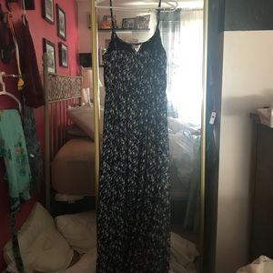 one clothing Dresses - One Clothing Navy/White Maxi Dress
